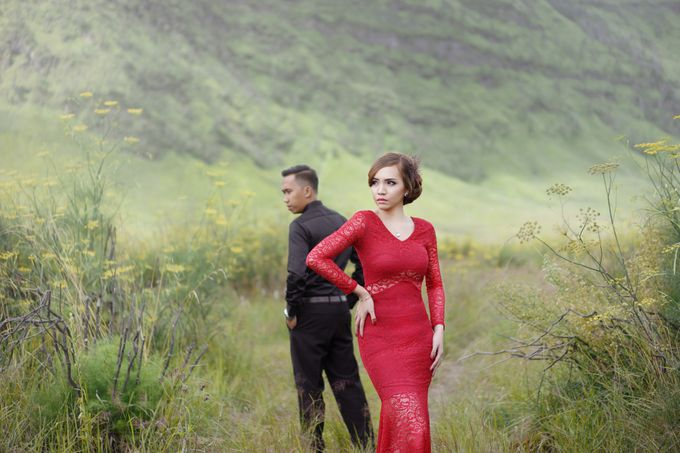 Dita & Rendi Prewedding Bromo by ELNATH - 002