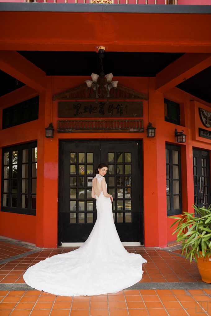 An Urban Bridal Styled Shoot in Joo Chiat Singapore by Peach Frost Studio - 019
