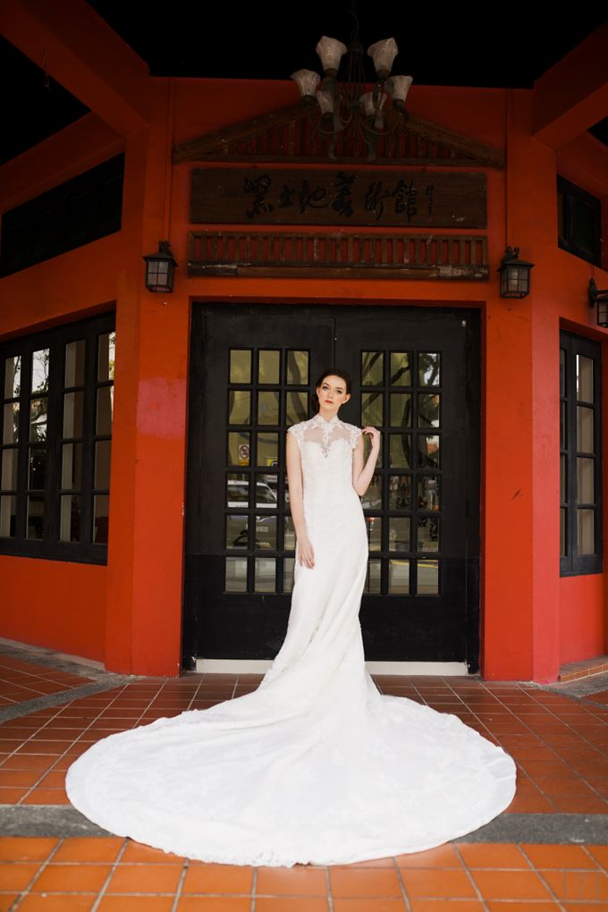 An Urban Bridal Styled Shoot in Joo Chiat Singapore by Peach Frost Studio - 023