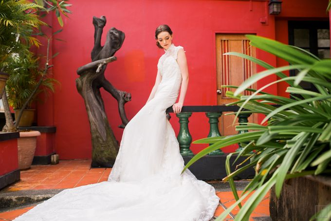 An Urban Bridal Styled Shoot in Joo Chiat Singapore by Peach Frost Studio - 024