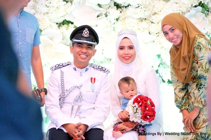 Wedding Reception at Ballroom Roof Garden Hotel by Wedding Studio Sdn Bhd - 041