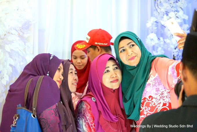 Wedding Reception at Ballroom Roof Garden Hotel by Wedding Studio Sdn Bhd - 043