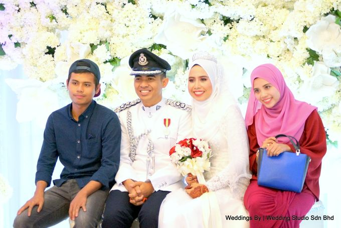 Wedding Reception at Ballroom Roof Garden Hotel by Wedding Studio Sdn Bhd - 045