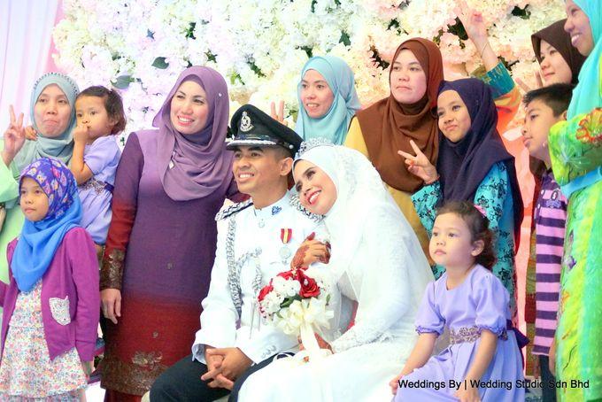 Wedding Reception at Ballroom Roof Garden Hotel by Wedding Studio Sdn Bhd - 046