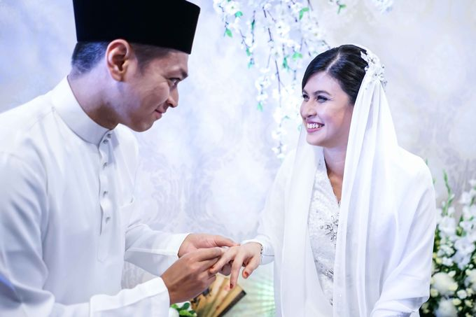 Malay Wedding - Solemnization - Nafisah & Hidhir by Raihan Talib Photography - 028