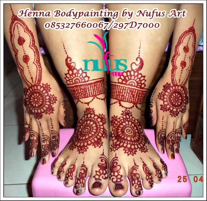 Henna For Wedding By Nufus Art Bridestorycom
