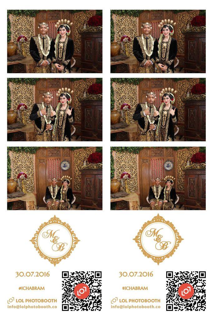 Wedding of Marisa & Bramastyo by lolphotobooth.co - 001