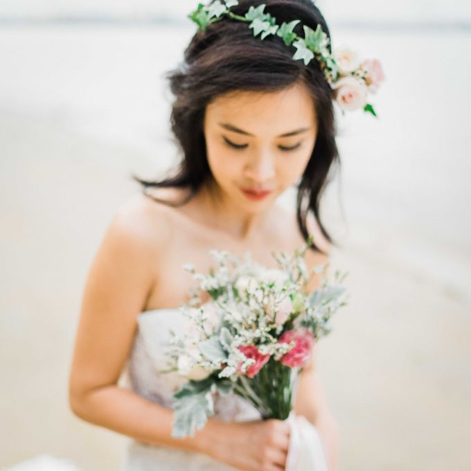 A Ethereal Bohemian Shoot at Coney Island by Frieda Brides - 011
