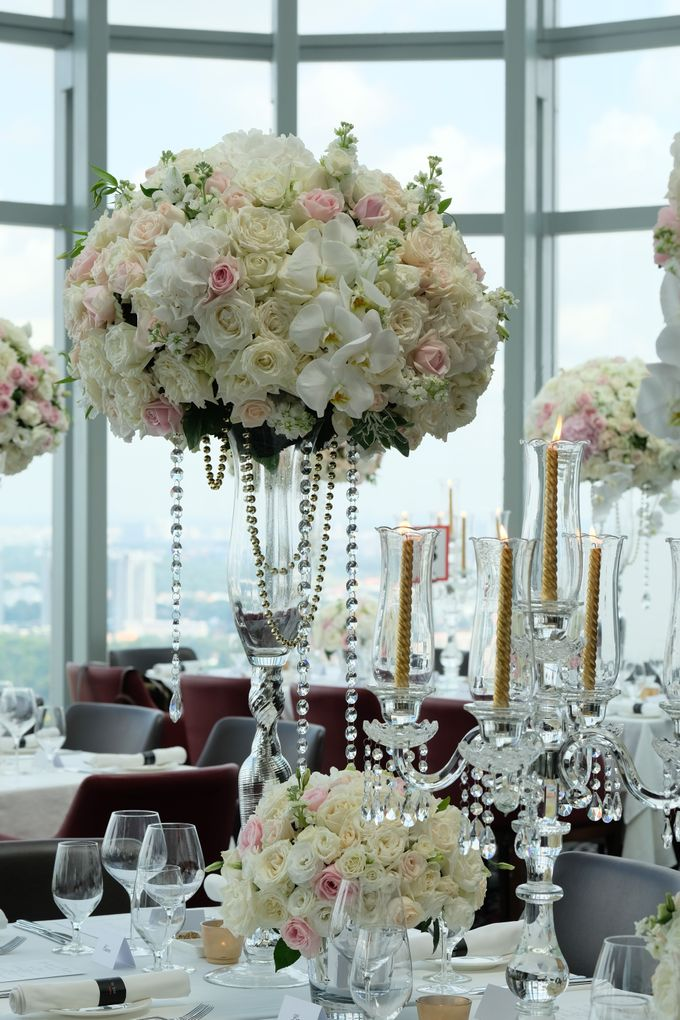 Wedding in the sky by Salt grill  and sky bar by Luke Mangan - 005