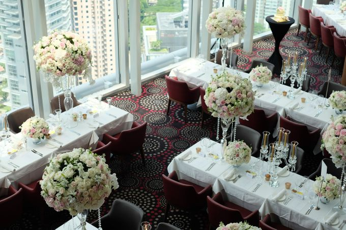 Wedding in the sky by Salt grill  and sky bar by Luke Mangan - 003