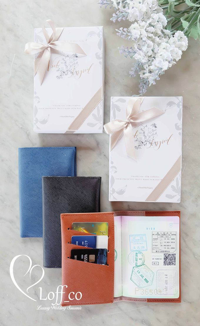 Functional Pouch, Passport & Card Holder by Loff_co souvenir - 013