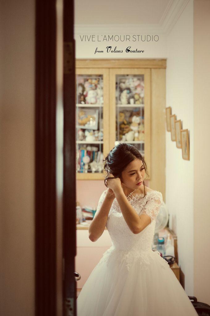 Eileen &  Zhang Fang Actual Wedding Day by Majella's Studios - 002