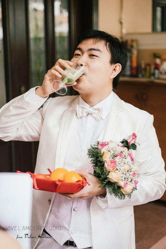 Eileen &  Zhang Fang Actual Wedding Day by Majella's Studios - 014