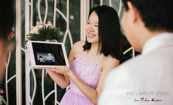 Eileen &  Zhang Fang Actual Wedding Day by Majella's Studios - 012