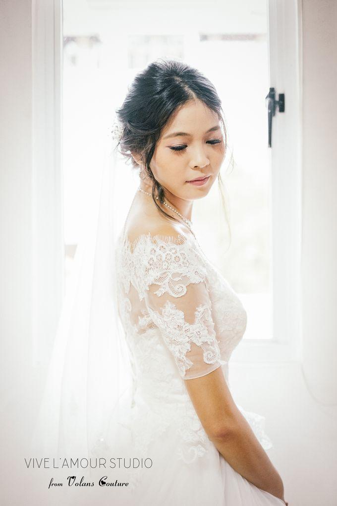 Eileen &  Zhang Fang Actual Wedding Day by Majella's Studios - 004