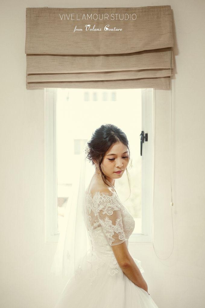 Eileen &  Zhang Fang Actual Wedding Day by Majella's Studios - 003