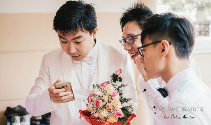 Eileen &  Zhang Fang Actual Wedding Day by Majella's Studios - 011