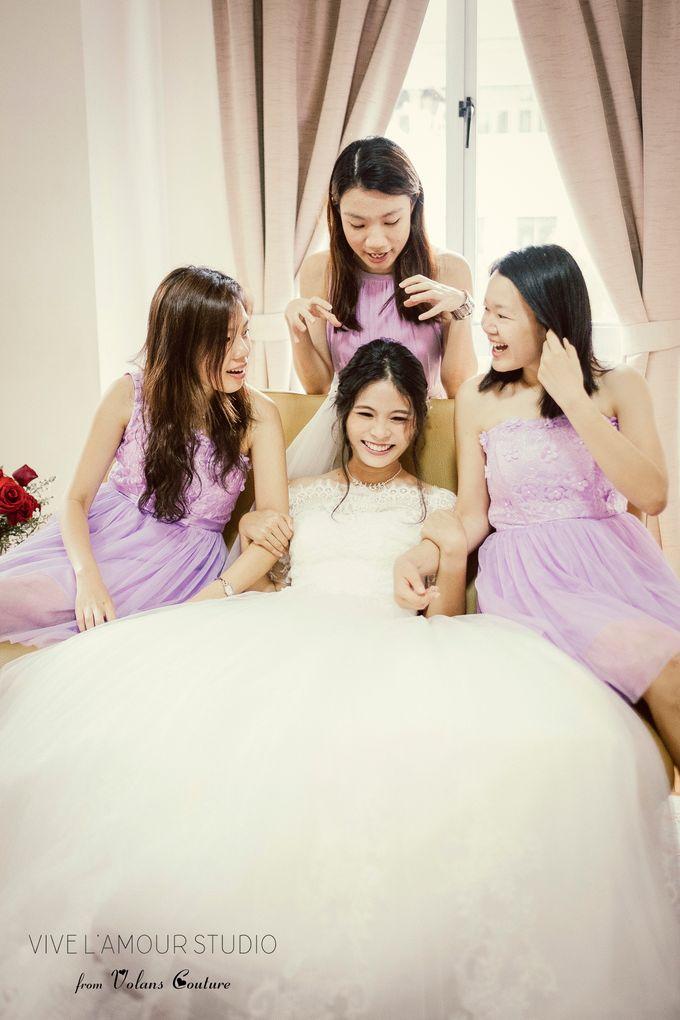 Eileen &  Zhang Fang Actual Wedding Day by Majella's Studios - 005
