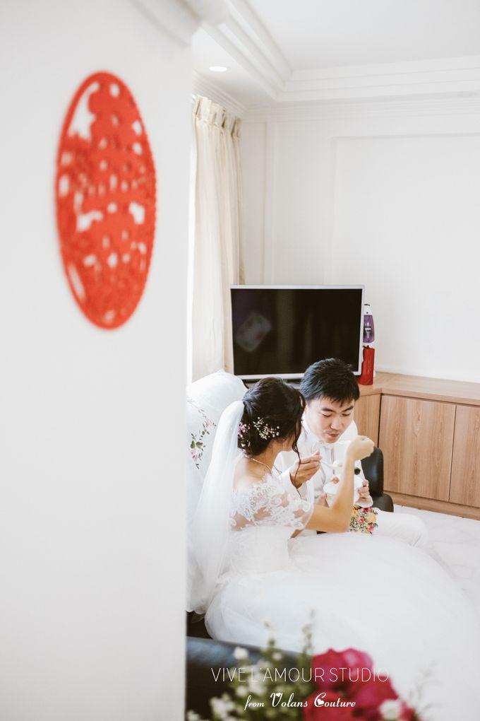 Eileen &  Zhang Fang Actual Wedding Day by Majella's Studios - 019