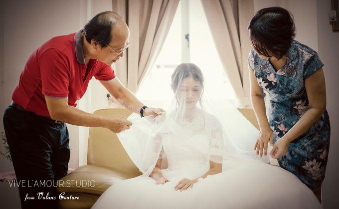 Eileen &  Zhang Fang Actual Wedding Day by Majella's Studios - 010