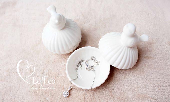 Luxury Crystal Grid & Ceramic Jar by Loff_co souvenir - 003