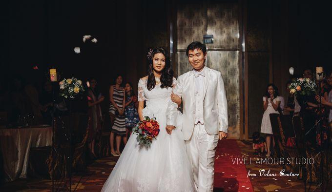 Eileen &  Zhang Fang Actual Wedding Day by Majella's Studios - 023
