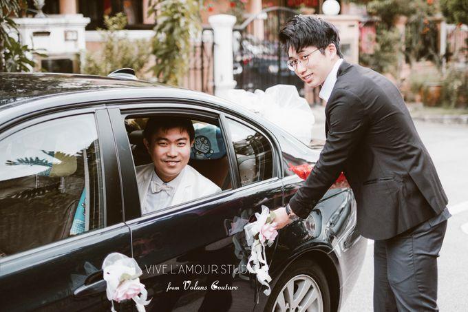 Eileen &  Zhang Fang Actual Wedding Day by Majella's Studios - 007