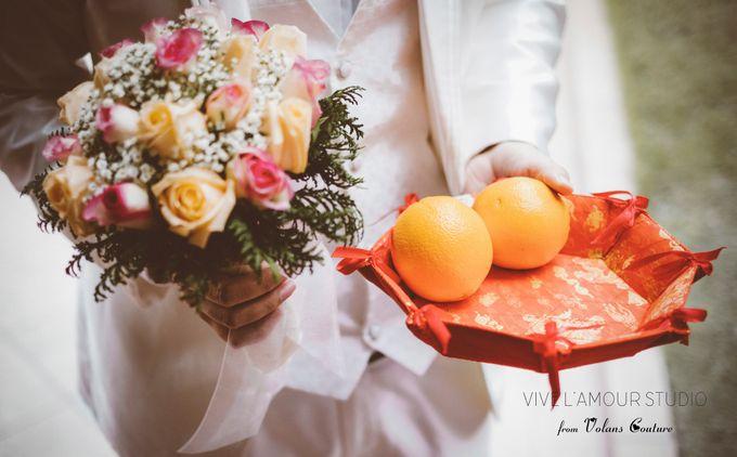 Eileen &  Zhang Fang Actual Wedding Day by Majella's Studios - 008
