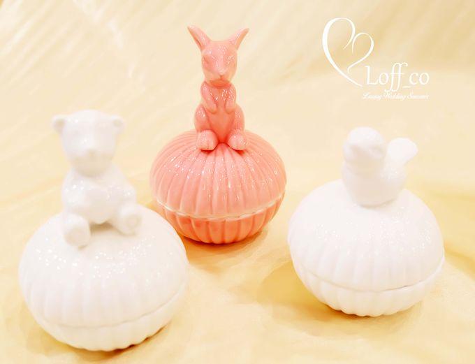 Luxury Crystal Grid & Ceramic Jar by Loff_co souvenir - 005