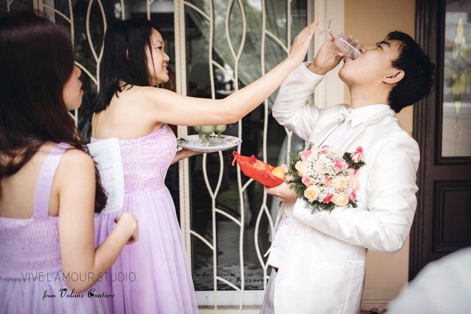 Eileen &  Zhang Fang Actual Wedding Day by Majella's Studios - 017