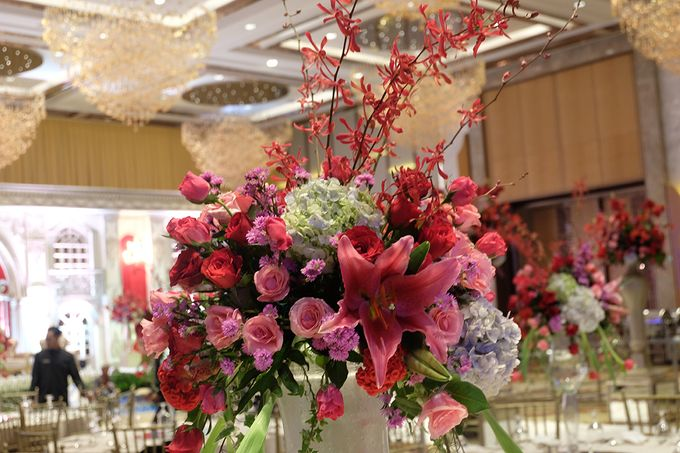 The Wedding of Raynald & Lieke - The Westin Jakarta by The Swan Decoration - 004
