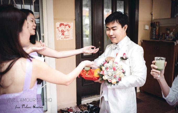 Eileen &  Zhang Fang Actual Wedding Day by Majella's Studios - 015
