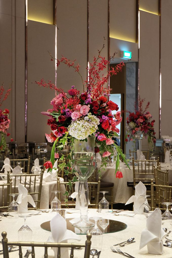 The Wedding of Raynald & Lieke - The Westin Jakarta by The Swan Decoration - 010