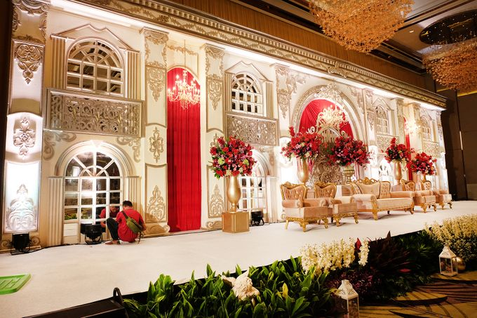 The Wedding of Raynald & Lieke - The Westin Jakarta by The Swan Decoration - 011