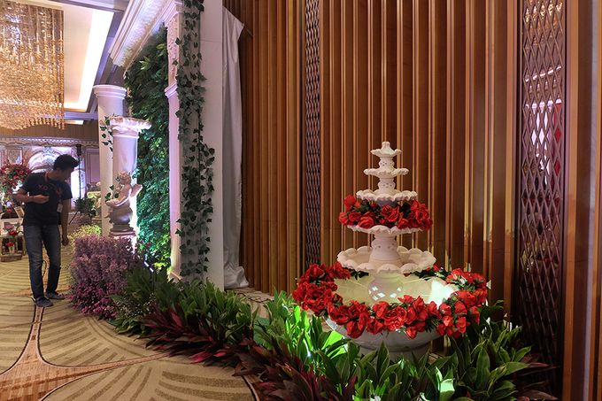 The Wedding of Raynald & Lieke - The Westin Jakarta by The Swan Decoration - 016