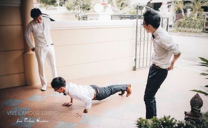 Eileen &  Zhang Fang Actual Wedding Day by Majella's Studios - 016