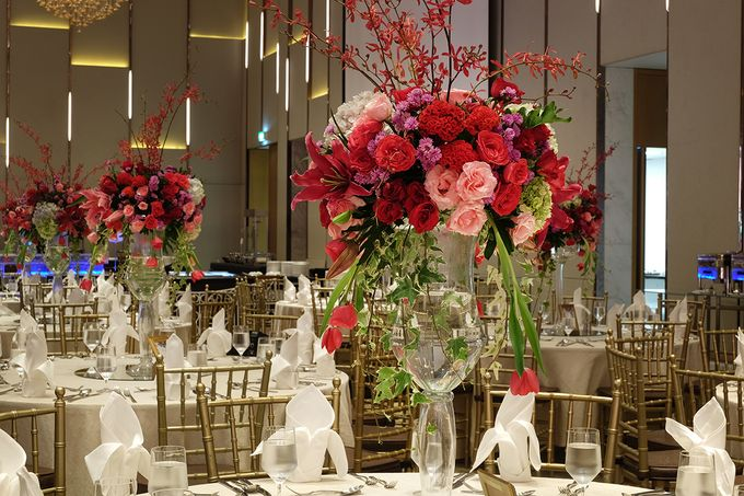 The Wedding of Raynald & Lieke - The Westin Jakarta by The Swan Decoration - 018