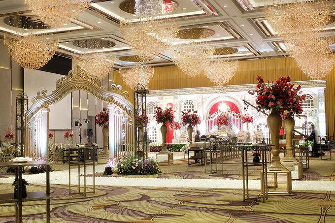 The Wedding of Raynald & Lieke - The Westin Jakarta by The Swan Decoration - 032