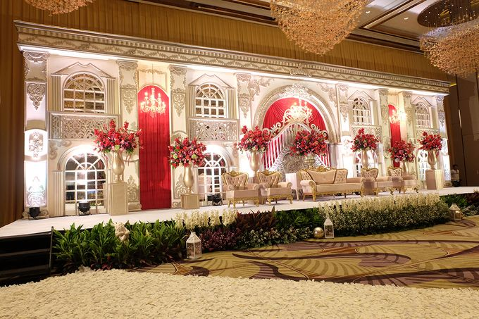 The Wedding of Raynald & Lieke - The Westin Jakarta by The Swan Decoration - 035