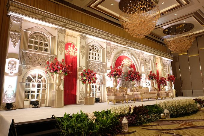 The Wedding of Raynald & Lieke - The Westin Jakarta by The Swan Decoration - 036