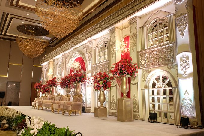 The Wedding of Raynald & Lieke - The Westin Jakarta by The Swan Decoration - 039