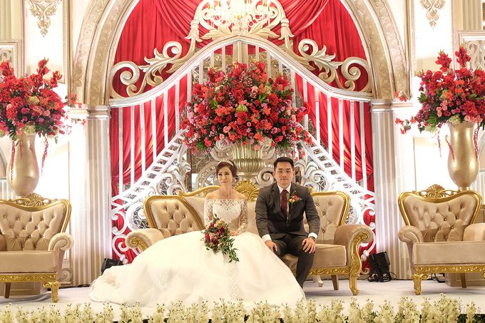 The Wedding of Raynald & Lieke - The Westin Jakarta by The Swan Decoration - 042