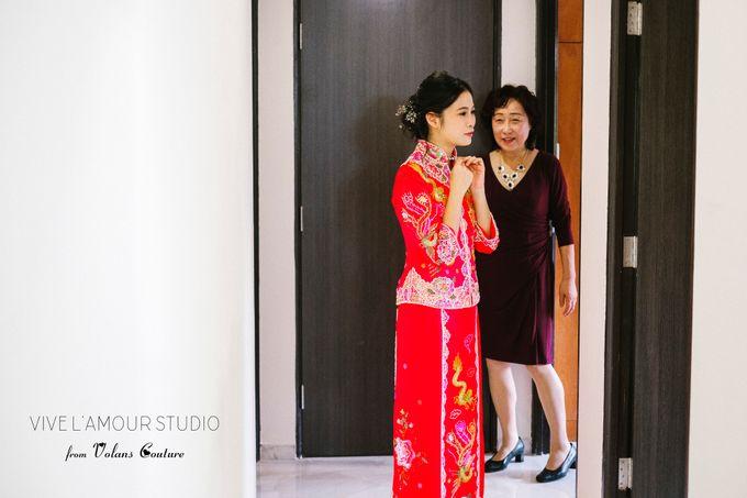 Eileen &  Zhang Fang Actual Wedding Day by Majella's Studios - 021