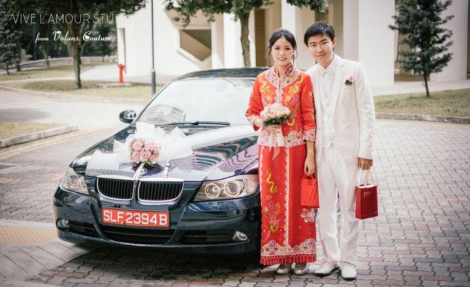 Eileen &  Zhang Fang Actual Wedding Day by Majella's Studios - 022
