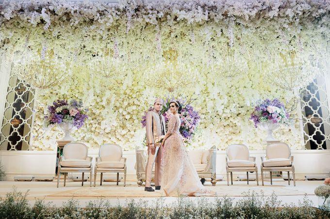 Saffana & Harish Wedding Reception by JAYSU Weddings by Jacky Suharto - 036