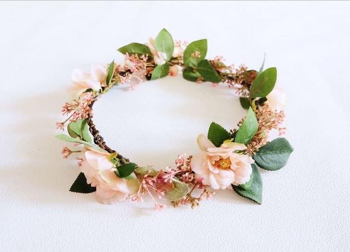 Natural Flower Crown by Cup Of Love Design Studio - 004