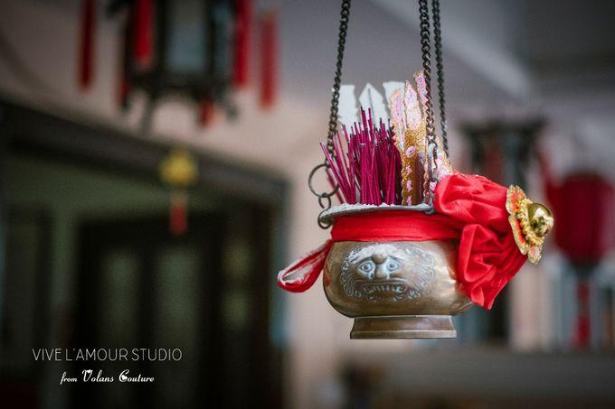 Eileen &  Zhang Fang Actual Wedding Day by Majella's Studios - 018