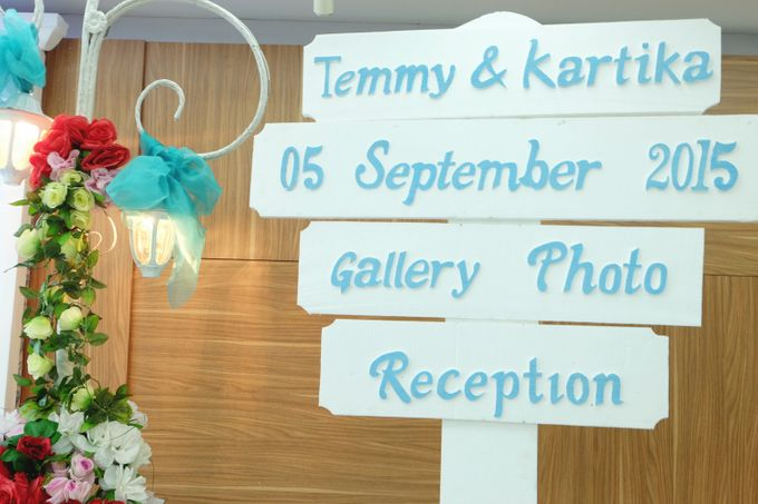 The Wedding of Temy & Kartika by FIVE Seasons WO - 007