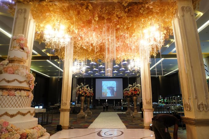 The Wedding of Andrew & Vina - Holiday Inn Kemayoran by The Swan Decoration - 008