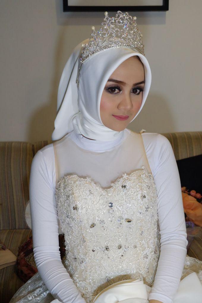 international wedding hijab by White Make Up and Hair Do - 003